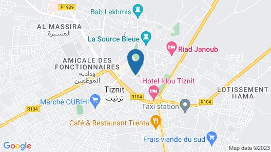 Tigmi Kenza Map