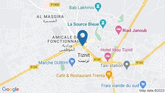 Hotel Al houria Map