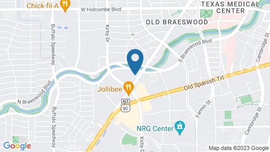 Courtyard by Marriott Houston Medical Center/NRG Park Map