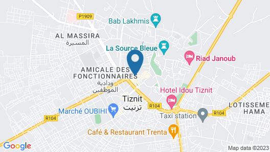 Hôtel Des Touristes Map