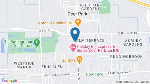 Hampton Inn Houston-Deer Park Ship Area Map