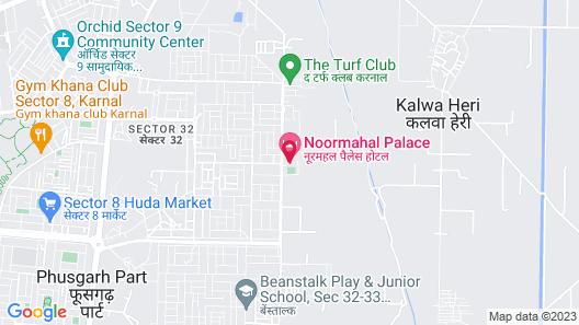 Hotel Noormahal Map