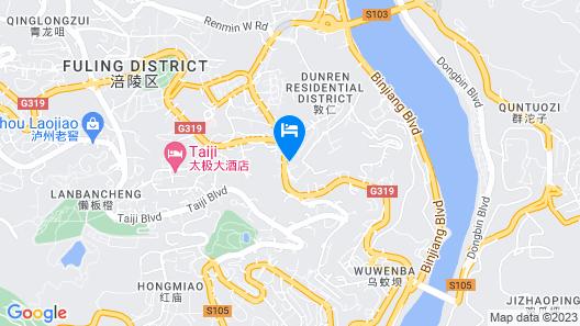 GreenTree Inn Chongqing Fuling Area Xinghua Middle Road Business Hotel Map