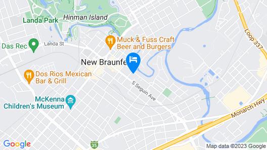 Comal Inn Map