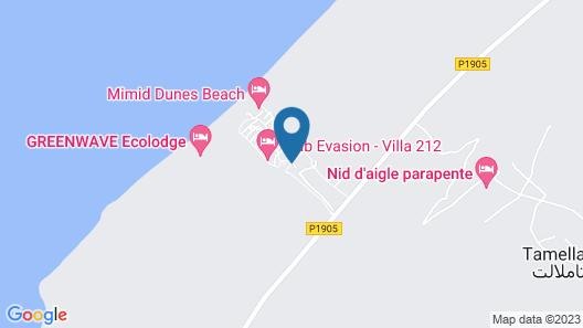 Villas Club Evasion Map