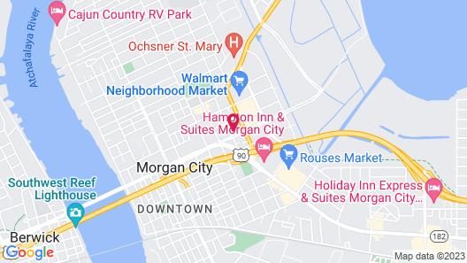 Best Western Morgan City Inn & Suites Map