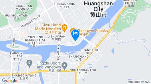Crowne Plaza Huangshan Yucheng Map