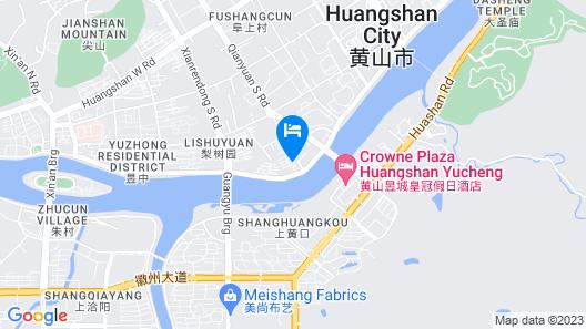 Crowne Plaza Huangshan Yucheng, an IHG Hotel Map