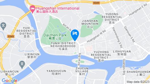 Huangshan Golden Yan'an Hotel Map