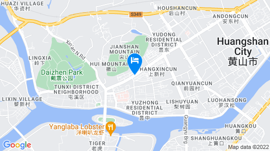 Huangshan Daylight Youth Hostel Map
