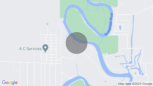 Suwannee River Cabin Sanctuary - Our Son's Cabin Map