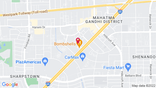 Holiday Inn Express & Suites Houston SW - Galleria Area Map