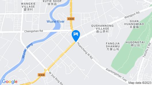 Wuhu Guoxin Hotel Map