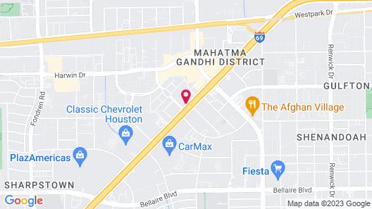 Hilton Houston Galleria Area Map