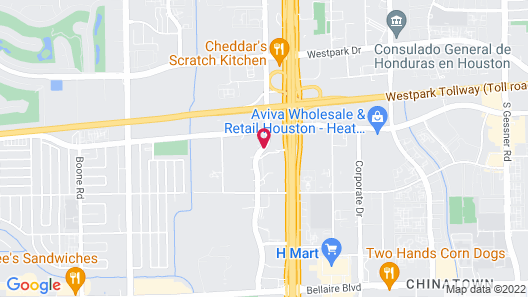 Springhill Suites Houston Westchase Map
