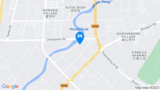 GreenTree Inn Shaoxing Zhuji Railway Station Wangyun West Road Hotel Map