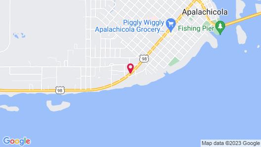 Apalachicola Bay Inn Map
