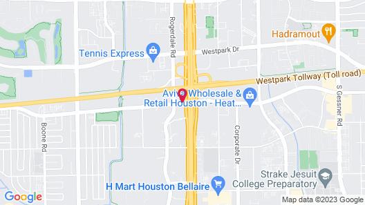 La Quinta Inn & Suites by Wyndham Houston - Westchase Map