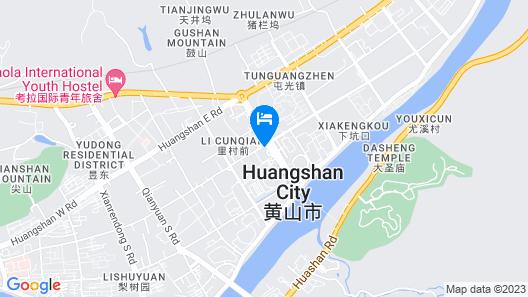 Huangshan Tiandu International Hotel Map