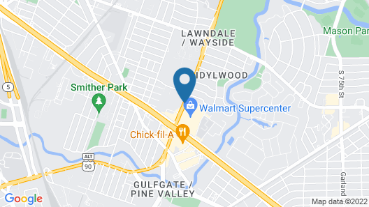 Palace Inn Wayside Map