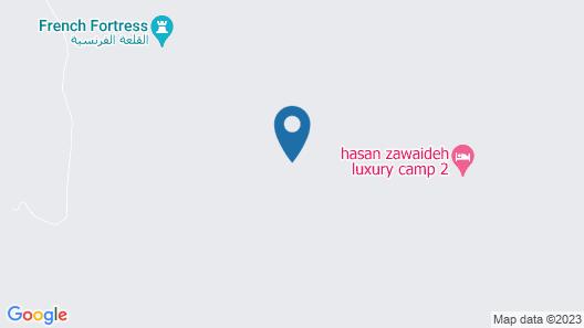 Wadi Rum Bubble Luxotel - Campsite Map