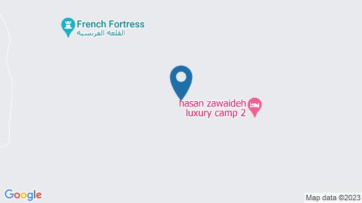 Wadi Rum UFO Luxotel - Campsite Map