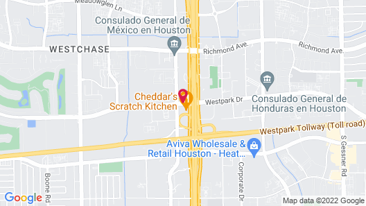 Towneplace Suites by Marriott Houston Westchase Map