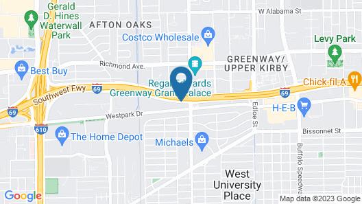 La Quinta Inn by Wyndham Houston Greenway Plaza Medical Area Map