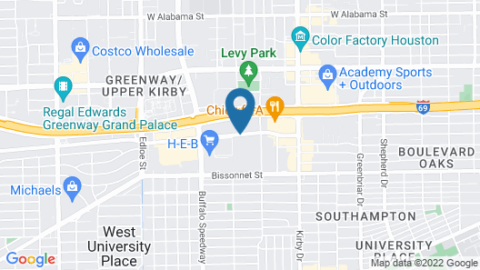 Residence Inn by Marriott Houston West University Map