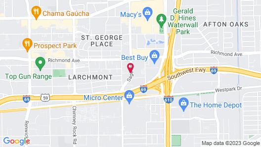 HYATT house Houston/Galleria Map