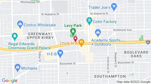 Four Points by Sheraton Houston Greenway Plaza Map