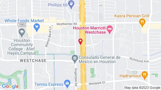 Studio 6 Houston, TX - Westchase Map
