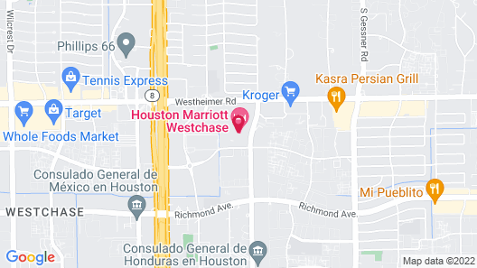 Houston Marriott Westchase Map