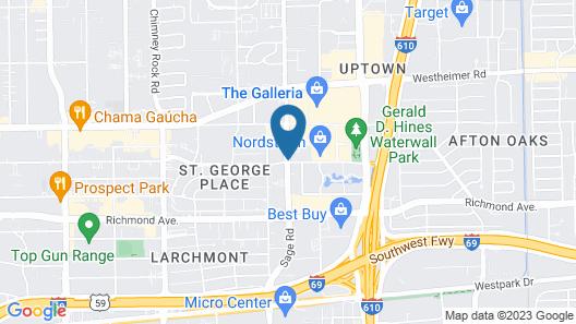 Sonesta ES Suites Houston Galleria Map