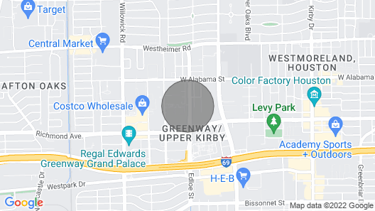 The Retro River Oaks Experience Map