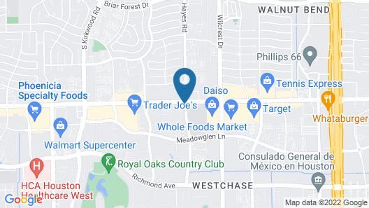 Holiday Inn Express and Suites Houston Westchase - Westheimer, an IHG Hotel Map