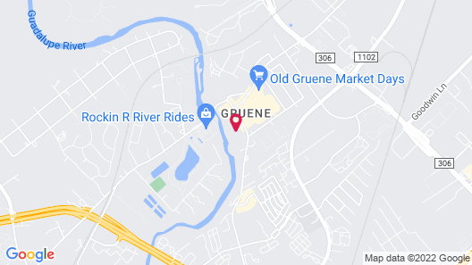 Gruene Reservations at the Village Map