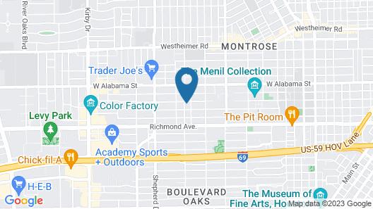 Modern B & B Map