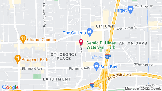 Homewood Suites by Hilton Houston Near the Galleria Map