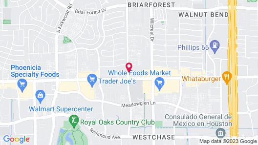 Candlewood Suites Houston Westchase/ Westheimer., an IHG Hotel Map
