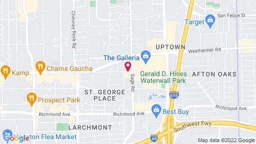 Hyatt Place Houston/Galleria Map