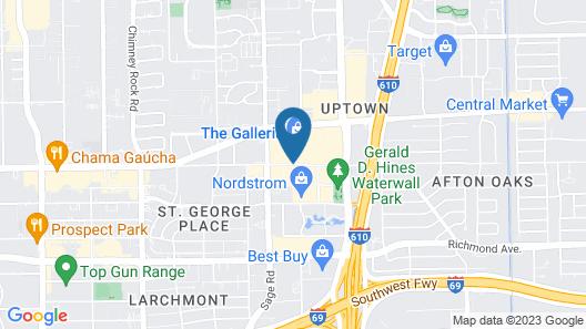 The Westin Galleria Houston Map