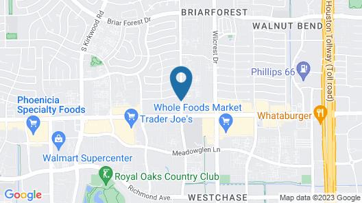 Best Western Plus Westheimer-Westchase Inn & Suites Map
