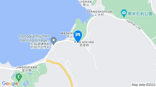 Ningbo Dongqian Lake Hengyuan Hotel Map