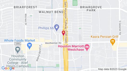 Fairfield Inn & Suites Houston Westchase Map