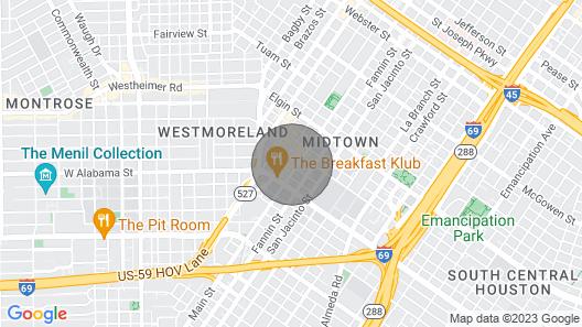 Sonder — Mid Main Lofts Map
