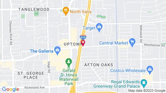 Hotel Derek Map