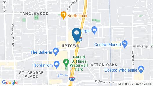 Sheraton Suites Houston Near The Galleria Map