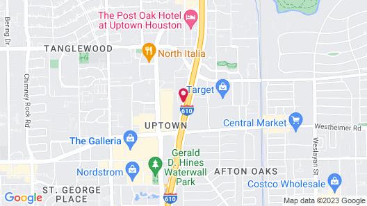 Royal Sonesta Houston Galleria Map