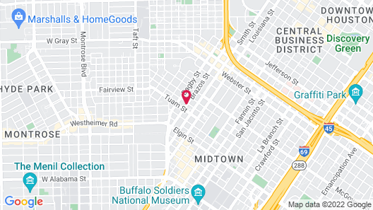 La Maison in Midtown an urban B&B Map